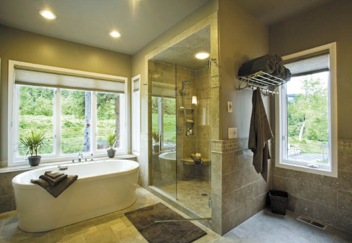 Alaska Home Architecture Design Bathrooms