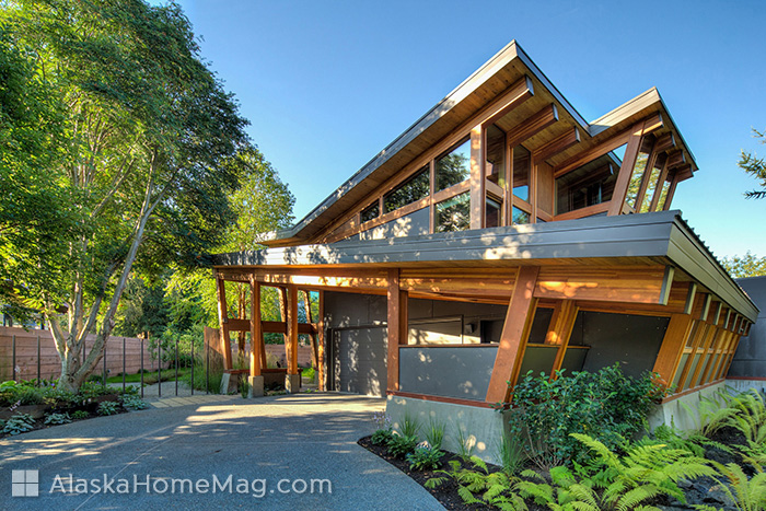 Alaska Home Architecture Design Butterfly Revisited