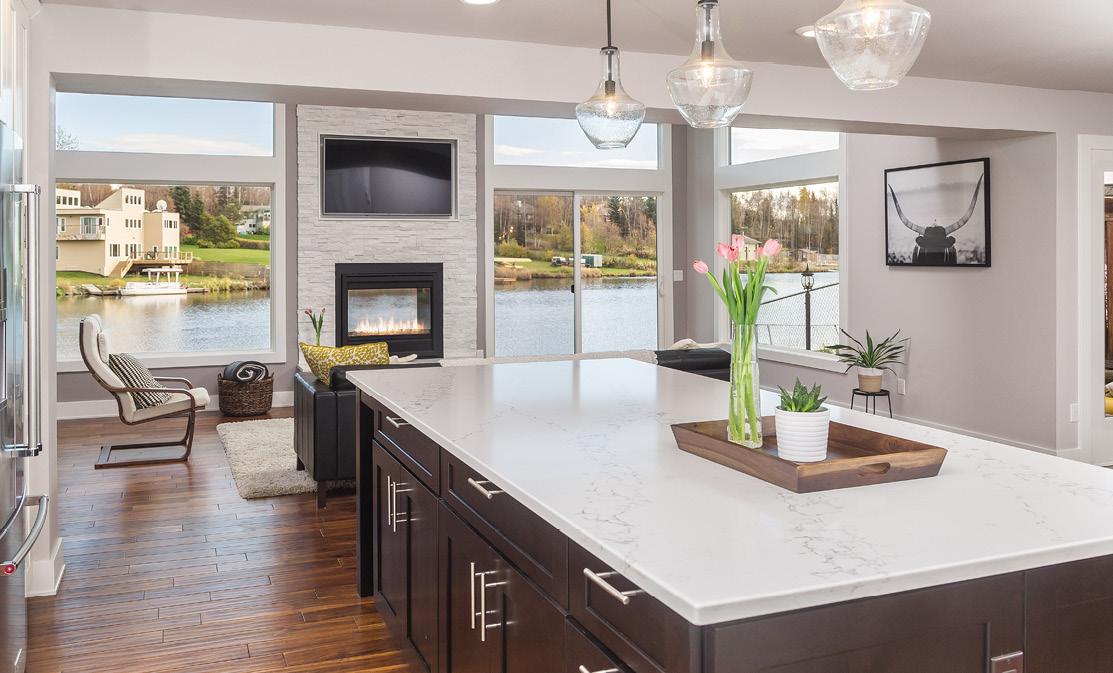 Alaska Home Architecture Design Lakefront Luxury