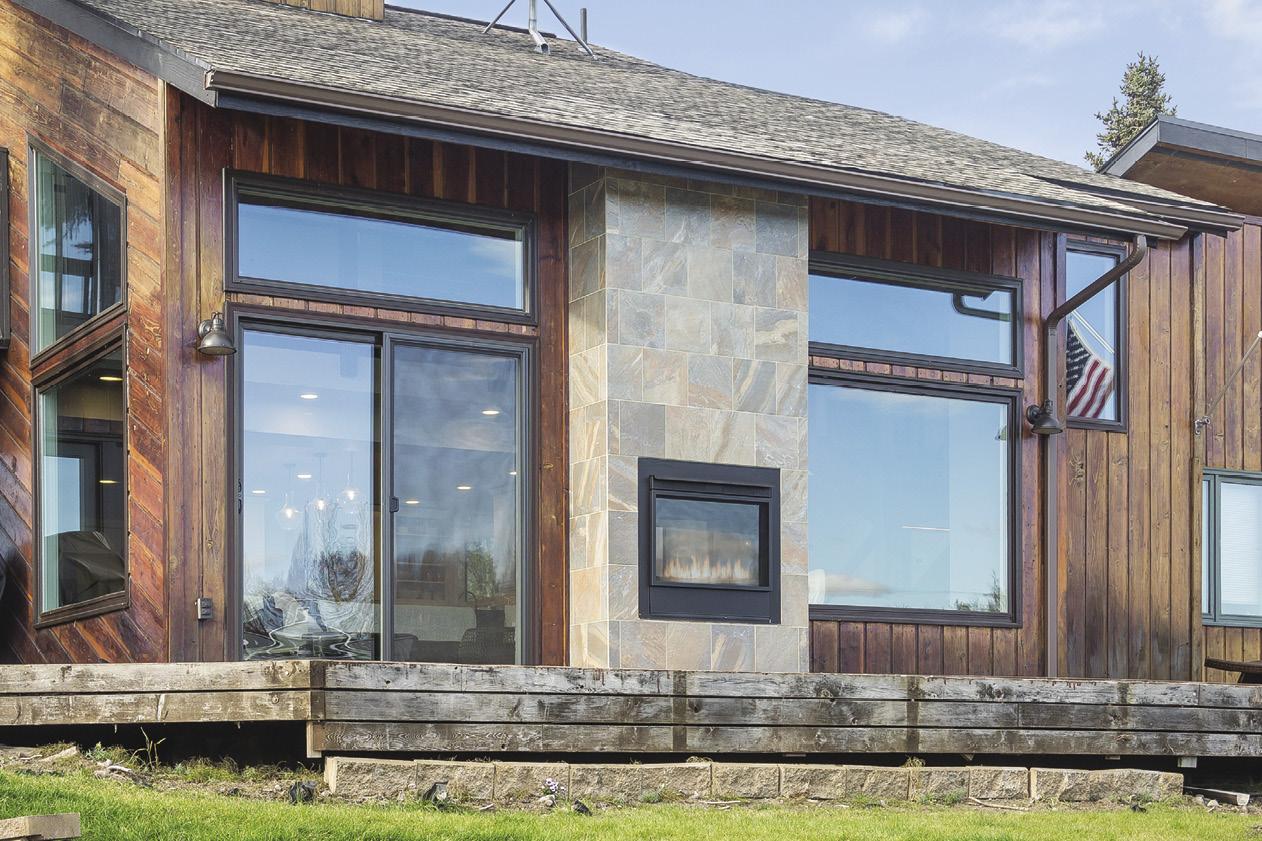 Alaska home designs homes across alaska tiny house with for 16 royal terrace glasgow