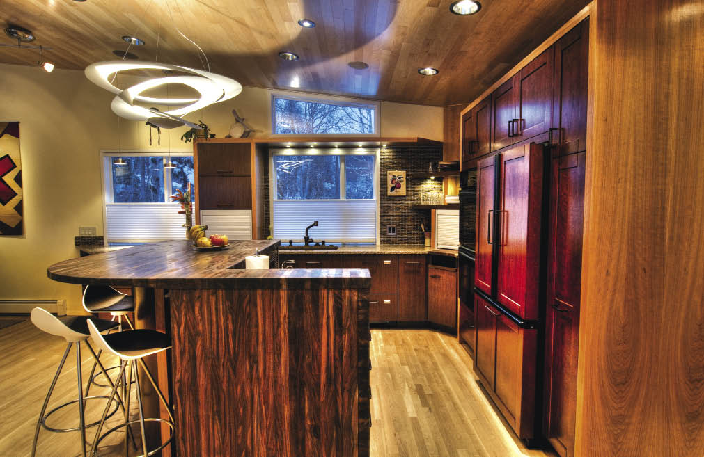 Alaska home architecture design home features mid century modernist makeover
