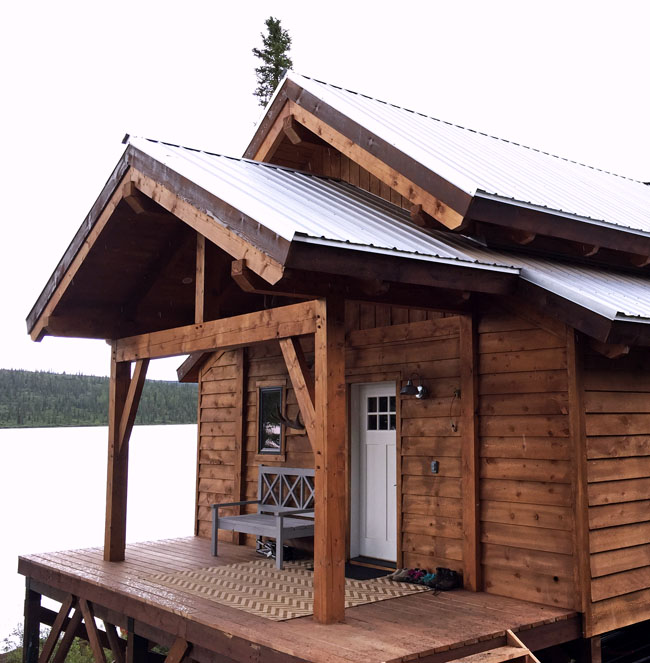 Alaska home for Building off the grid ana white