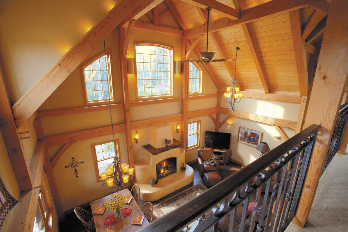 ALASKA HOME | ARCHITECTURE & DESIGN | HOME FEATURES | SUN-BAKED  HACIENDA-STYLE IN THE FAR NORTH