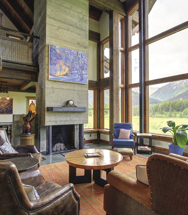 ALASKA HOME   ARCHITECTURE & DESIGN   HOME FEATURES on