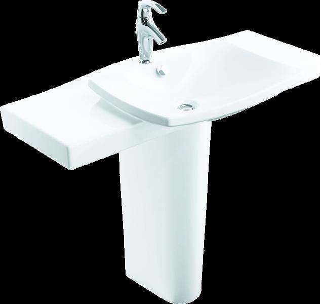 Kohler Corner Sink : ALASKA HOME ARTICLES UP ON A PEDESTAL