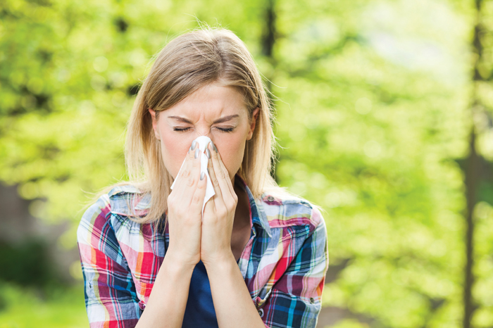 Gardening with allergies
